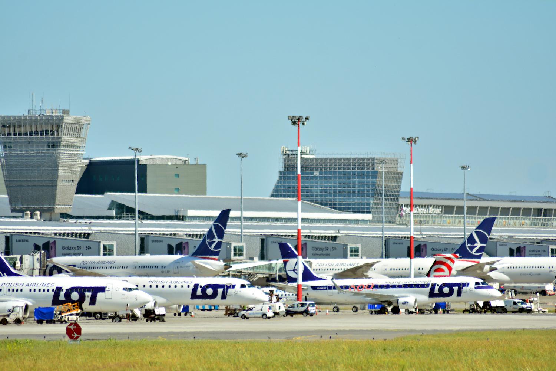 samoloty LOT Lotnisko Chopina
