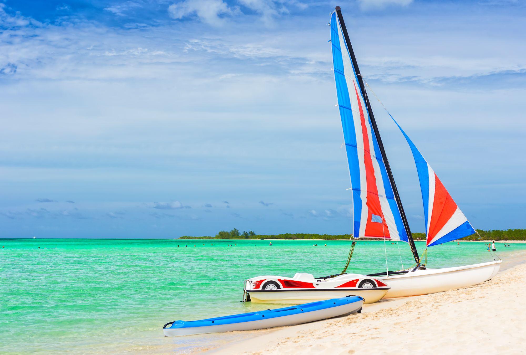 Cayo Coco widok plaży