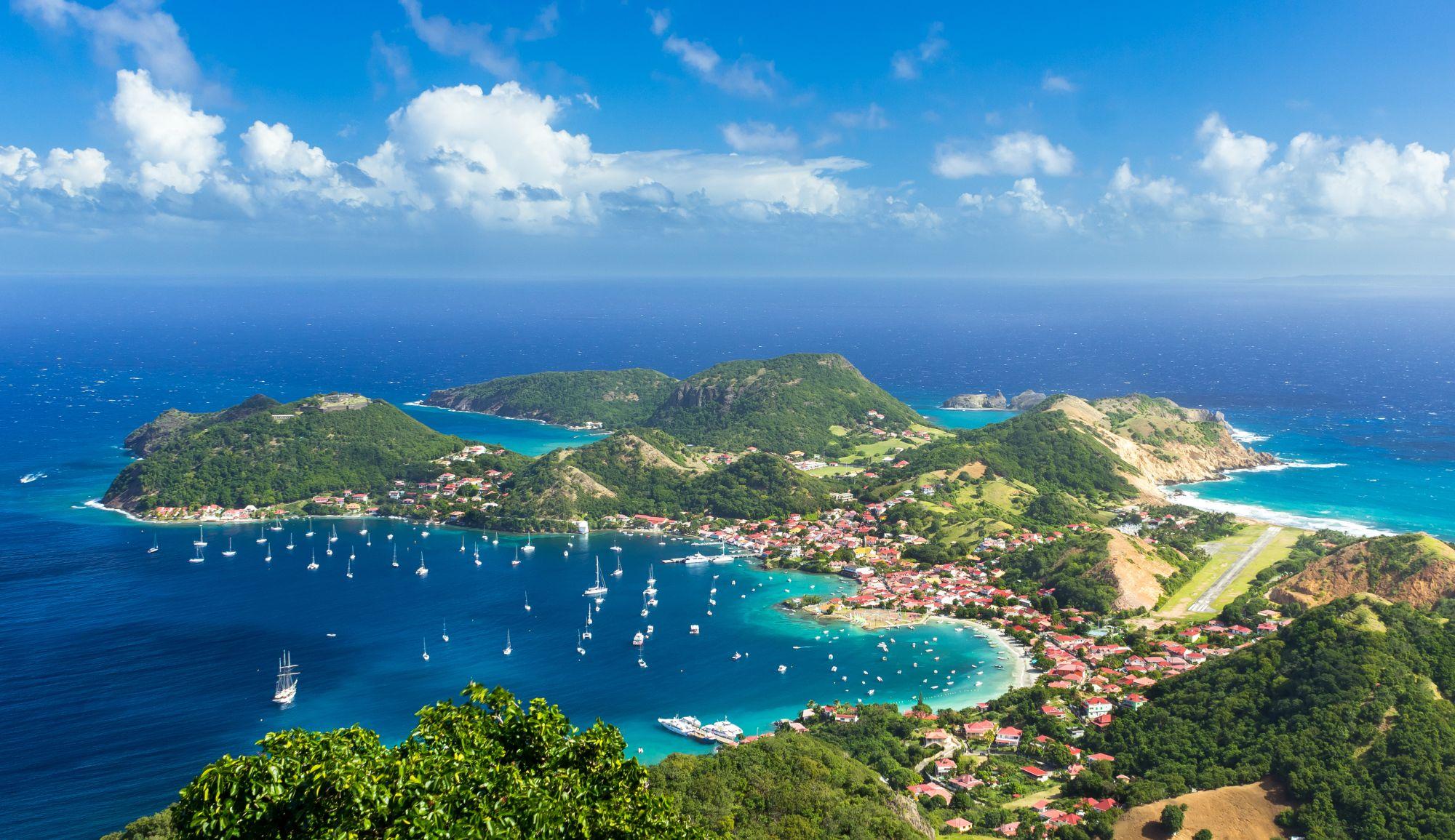 Gwadelupa panorama wyspy