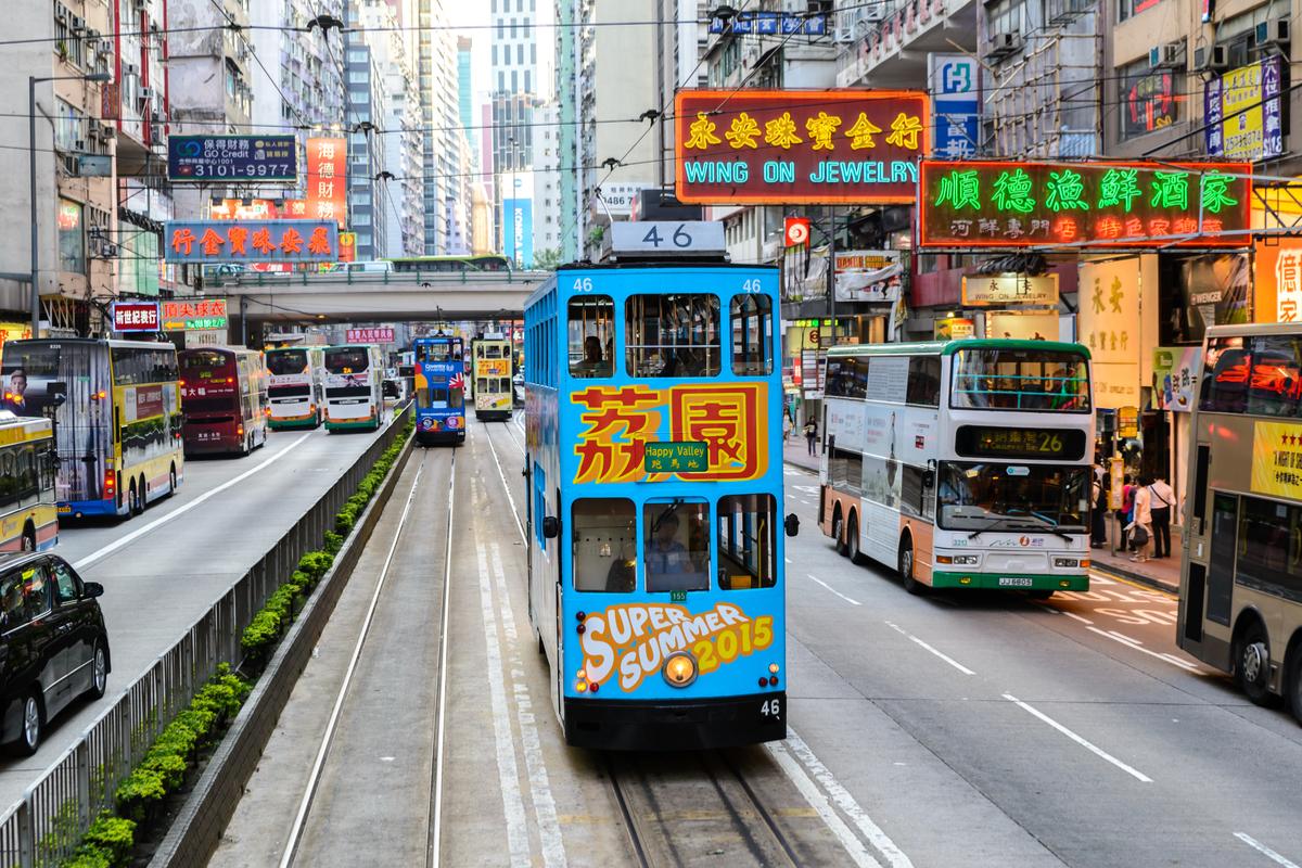 Hongkong tramwaj