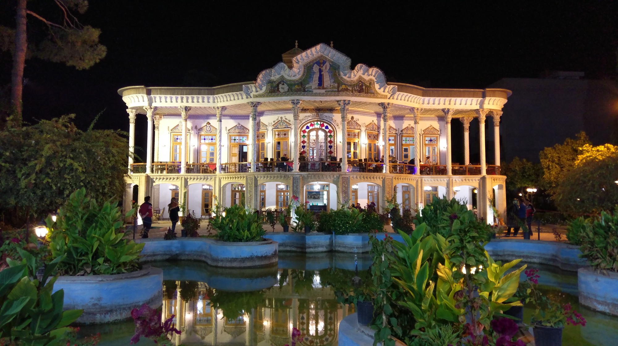 Iran widok pałacu