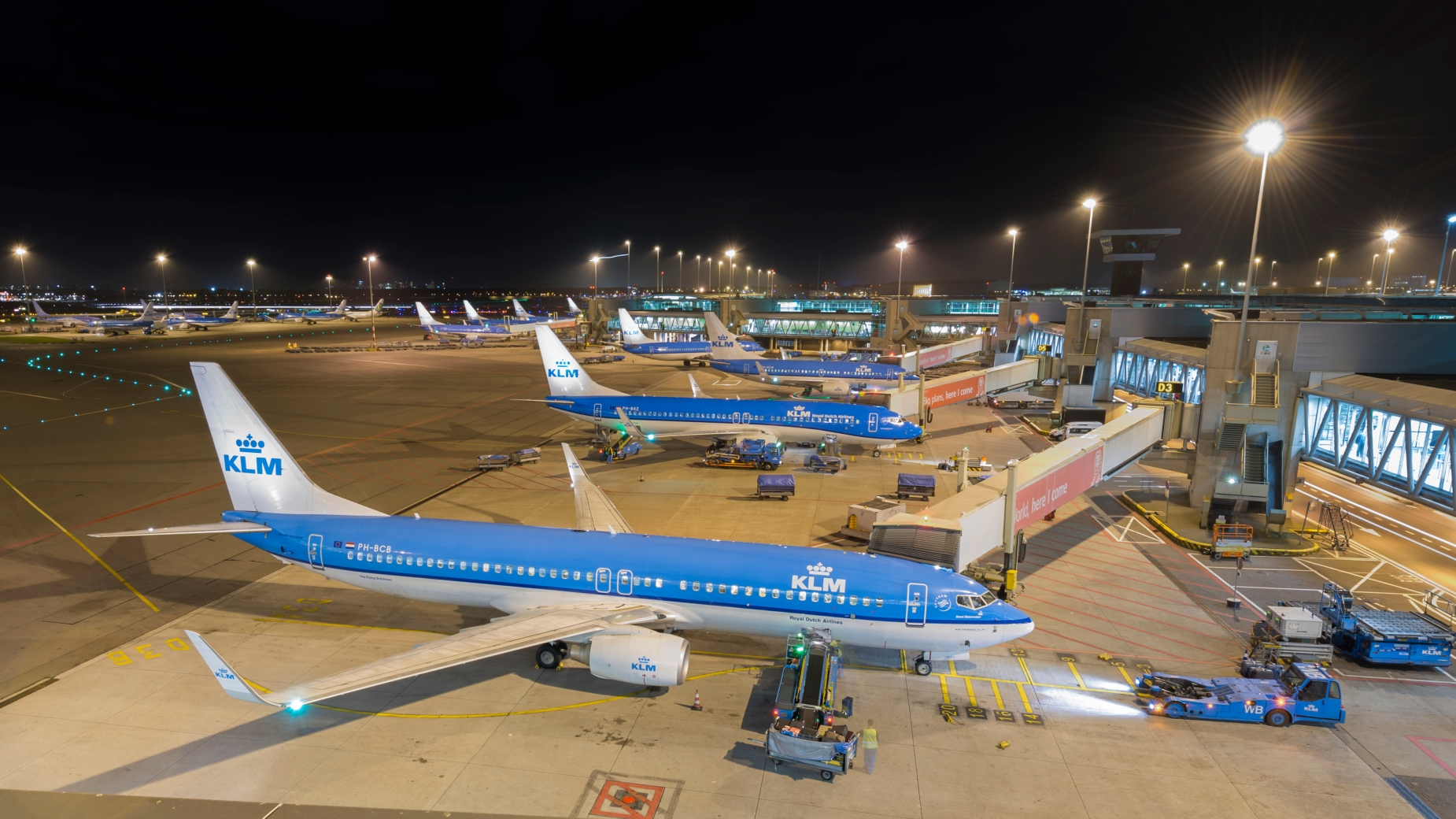 Samoloty KLM
