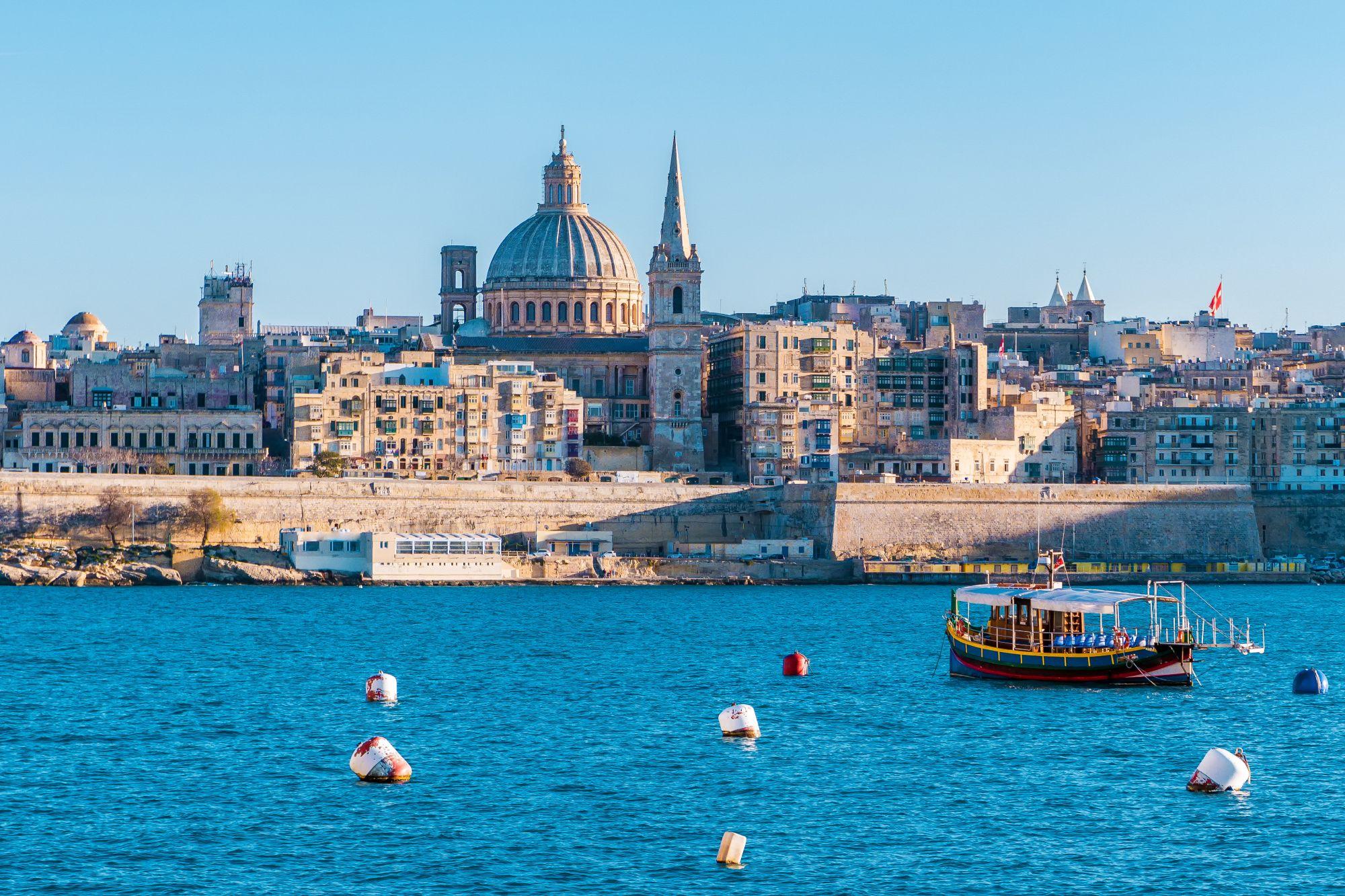 Malta widok Valetty