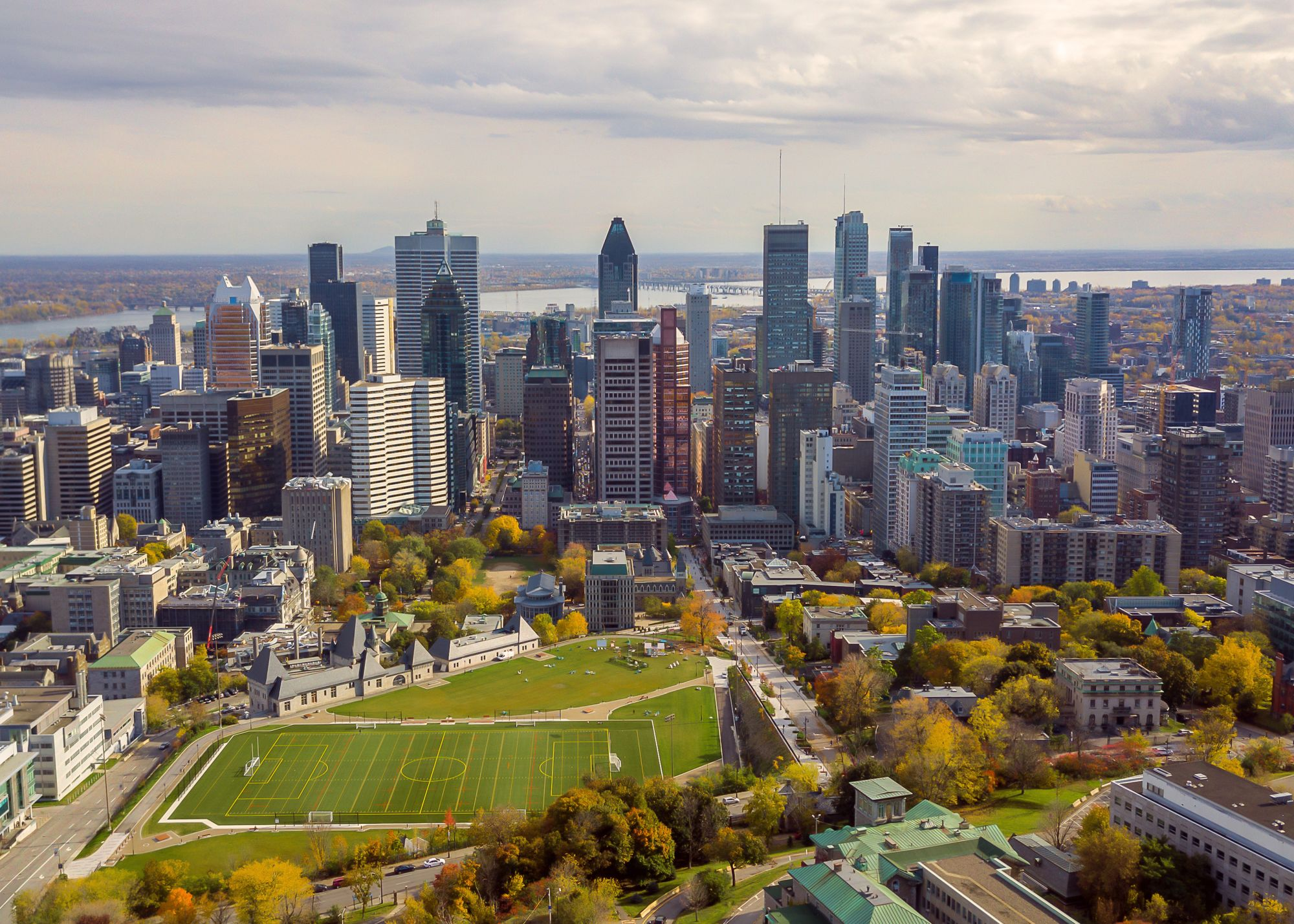 Montreal panorama miasta