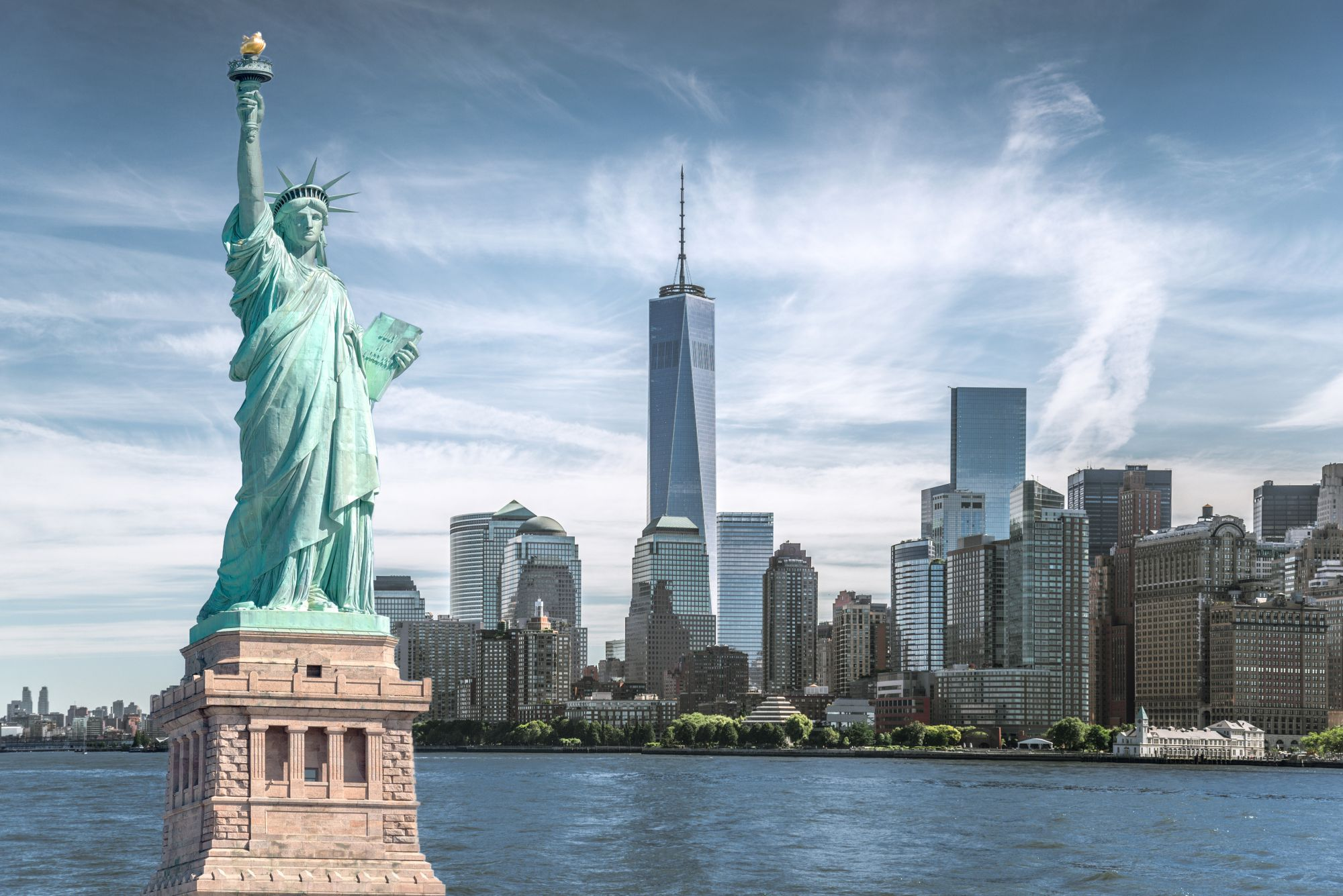 Nowy Jork panorama miasta