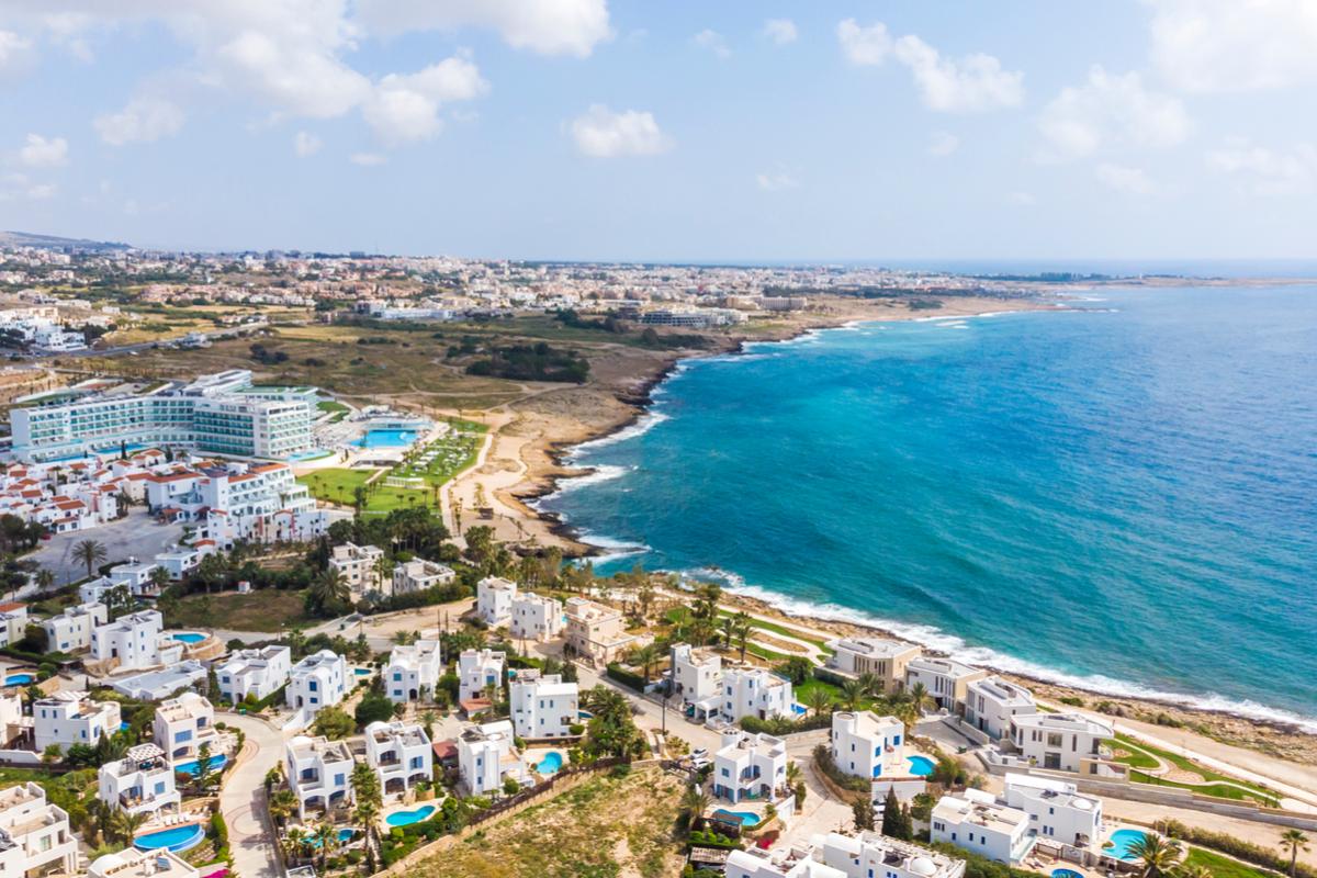 Cypr wybrzeże