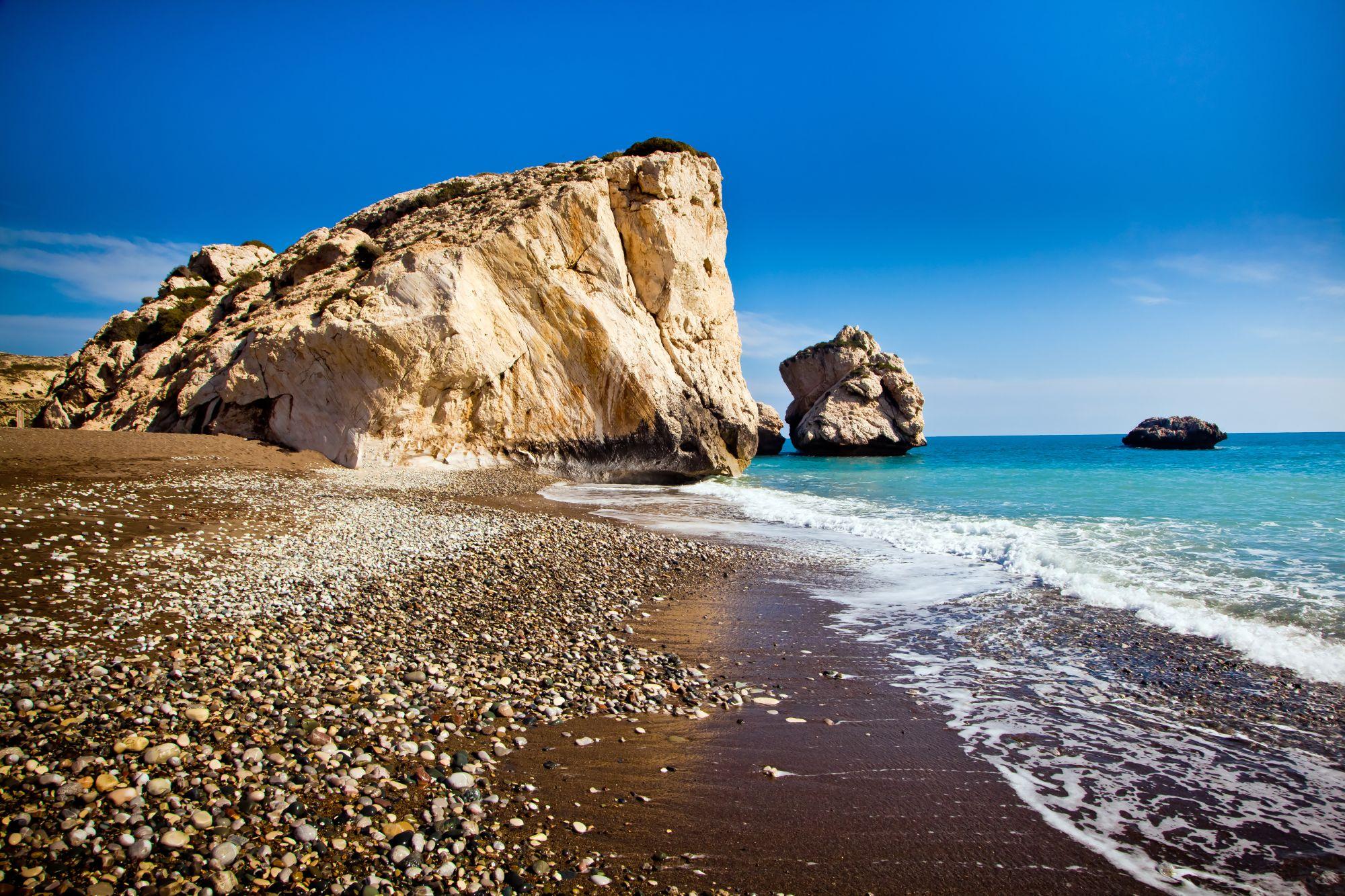 Plaża w Pafos
