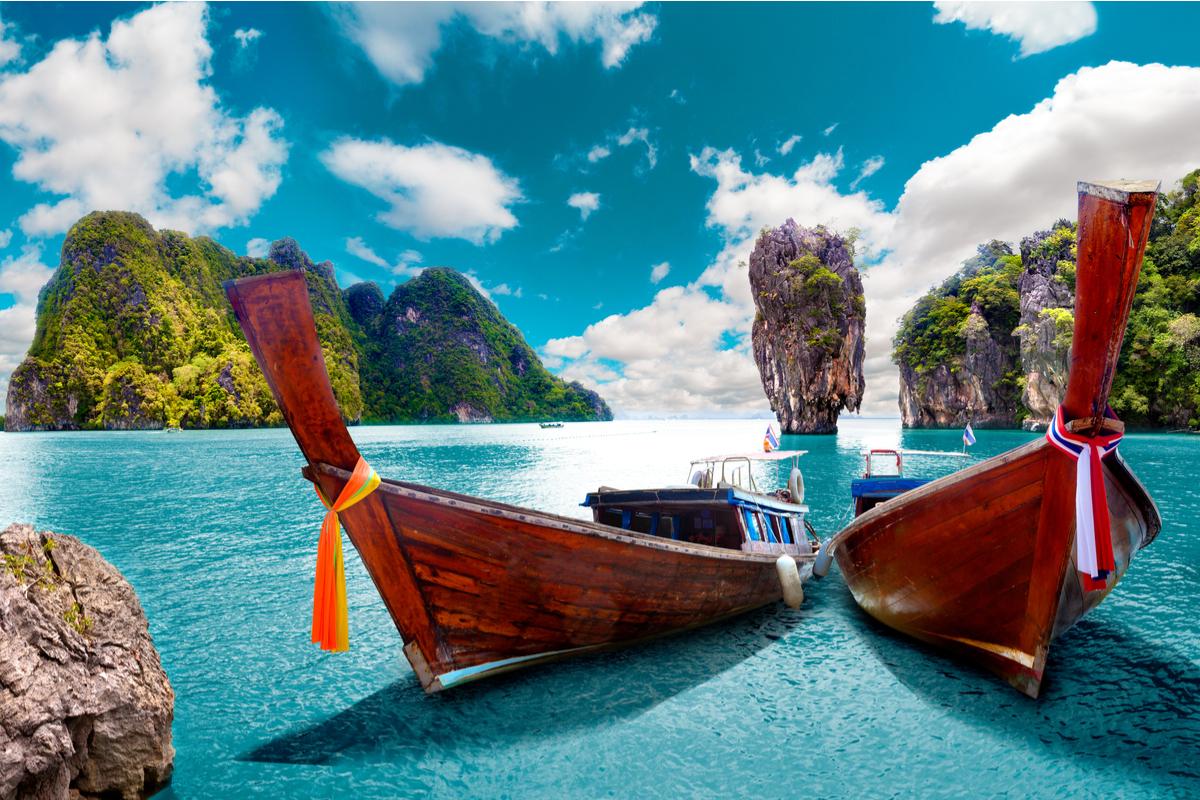 Phuket łódki