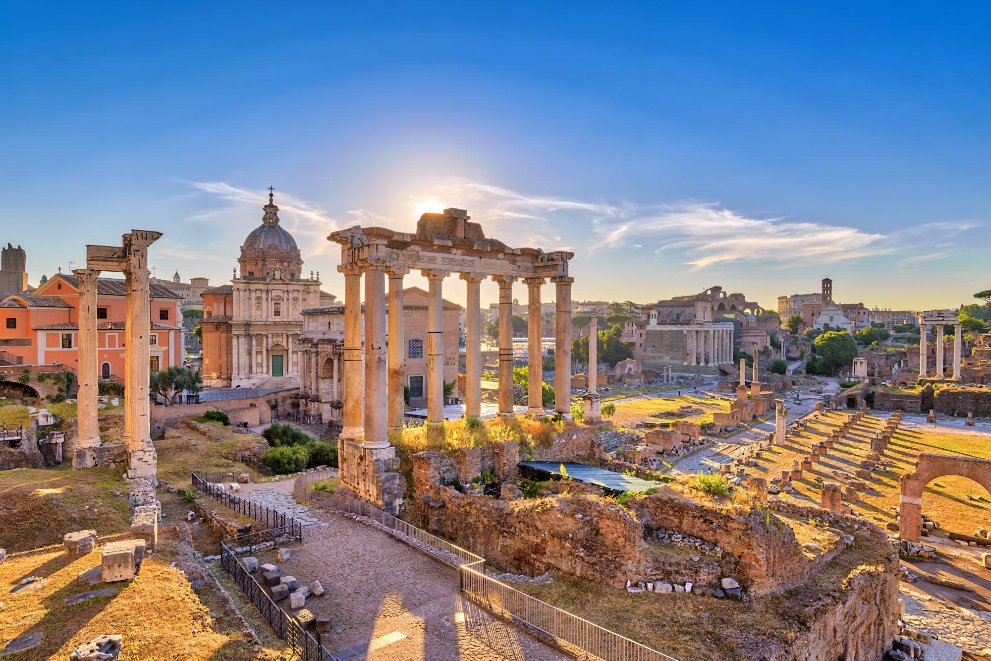 Rzym widok Panteonu