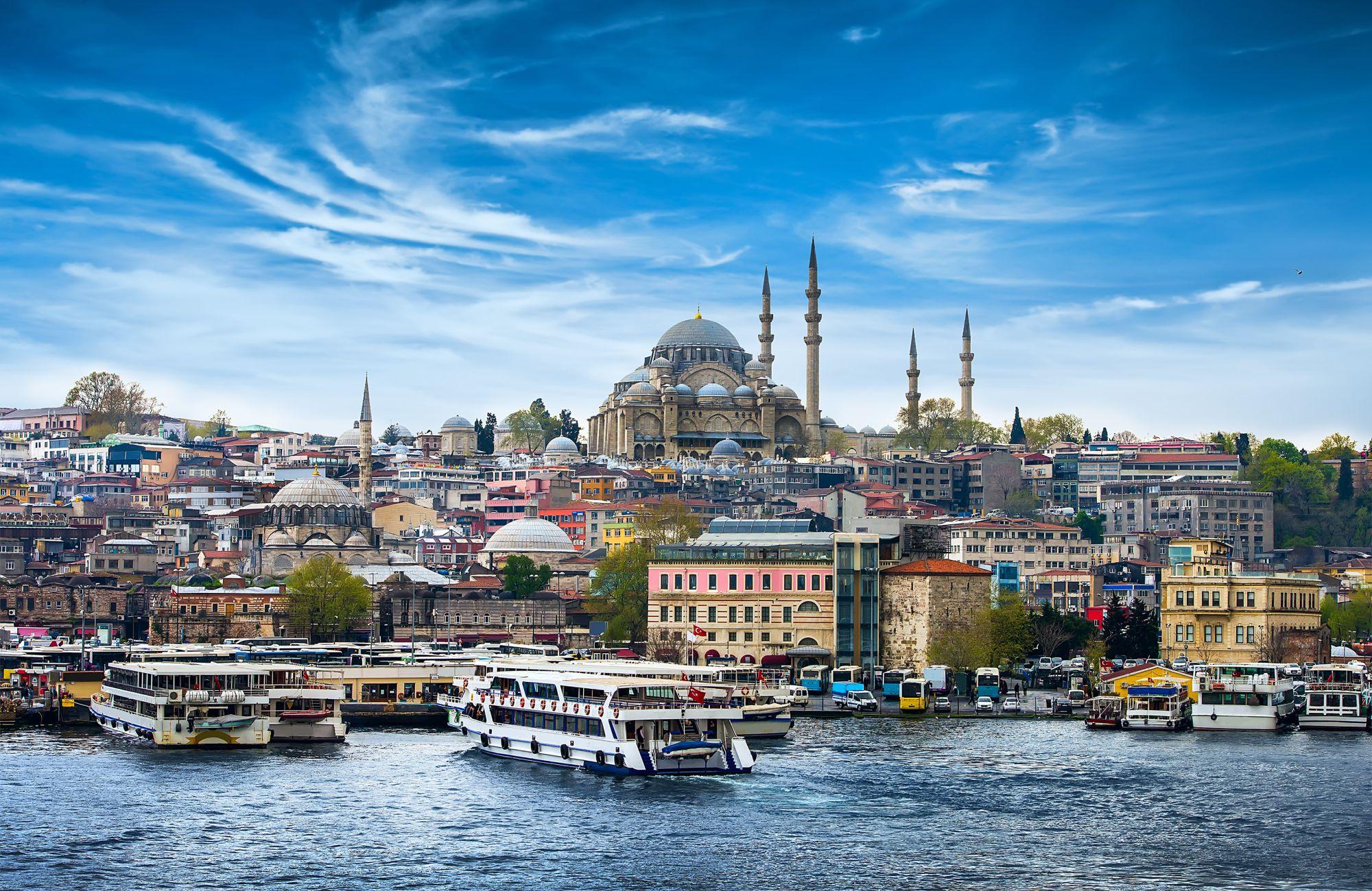 Stambuł panorama miasta