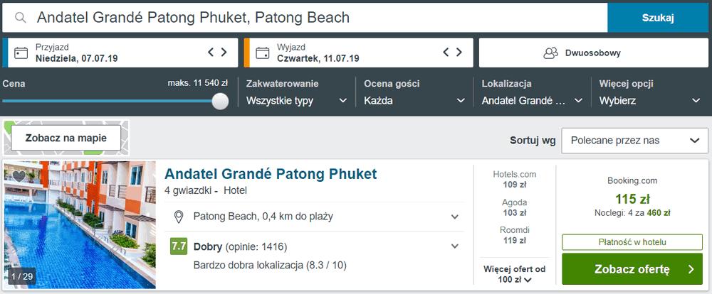 phuket noclegi