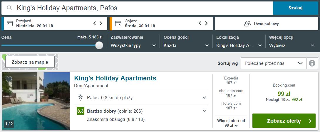 Pafos apartament