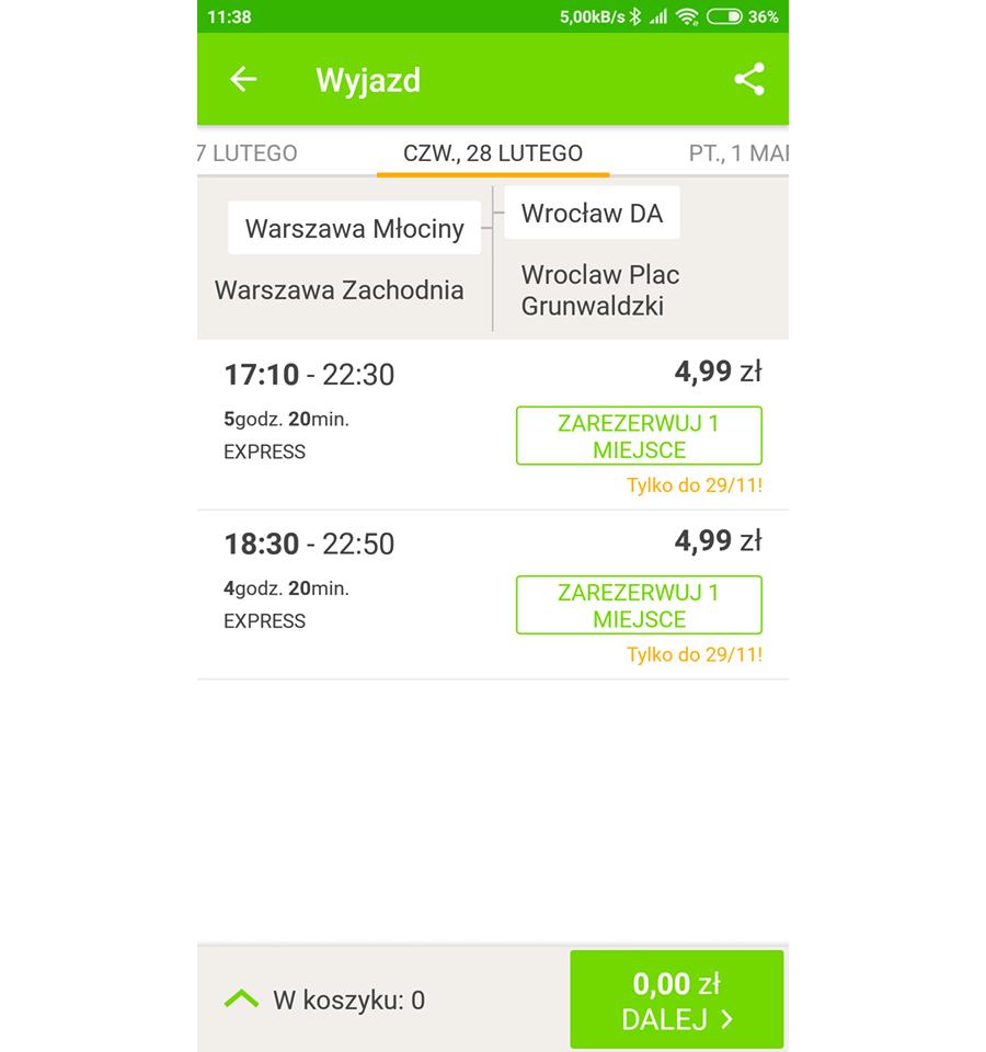 Wrocław z Warszawy