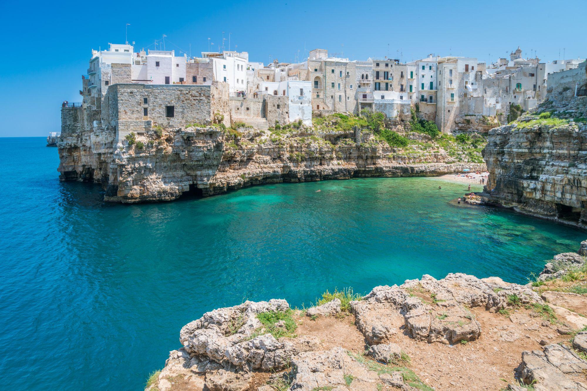 Apulia miasteczko nad morzem