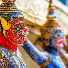 Bangkok detale świątyni
