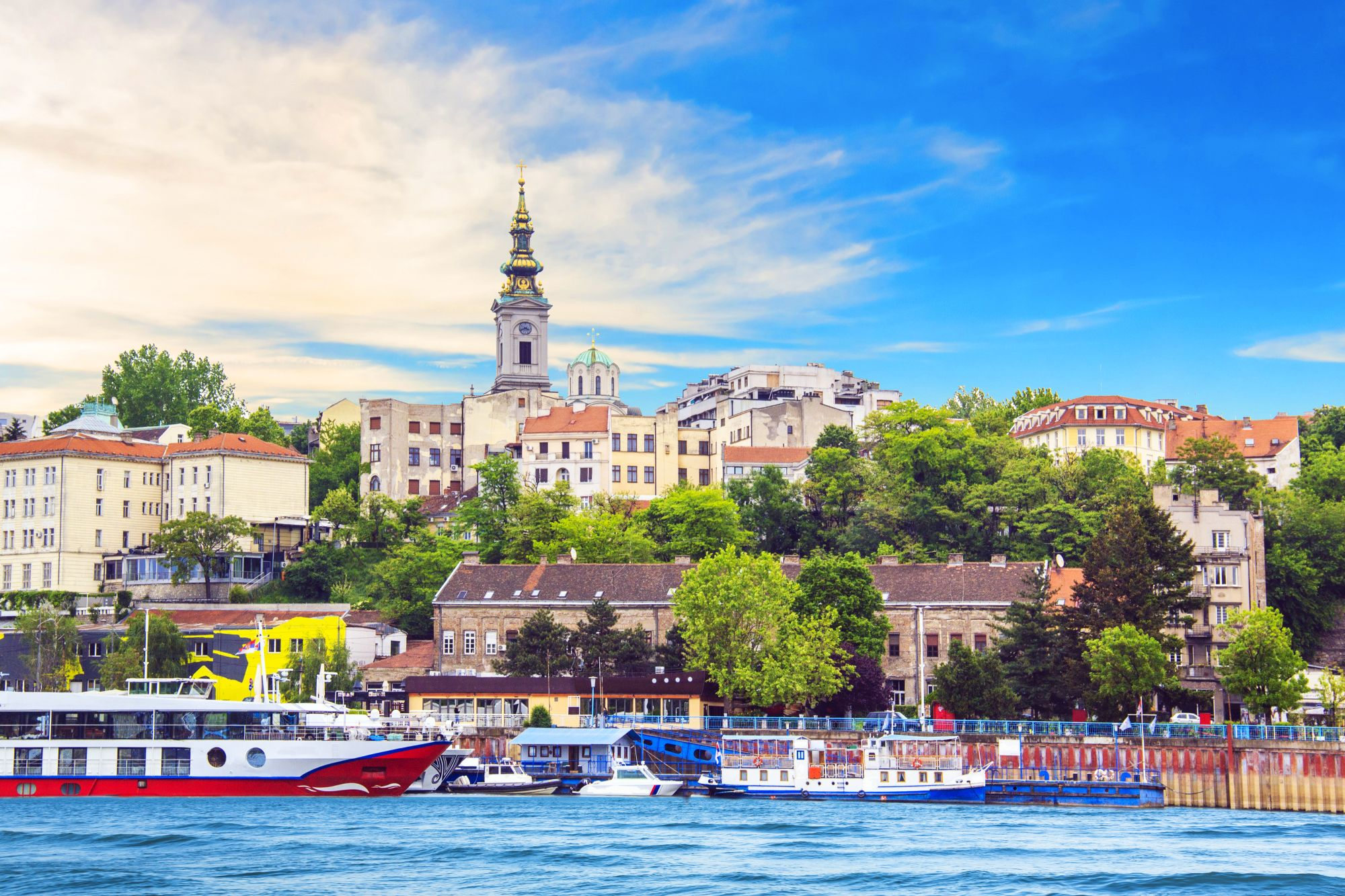 Belgrad widok miasta