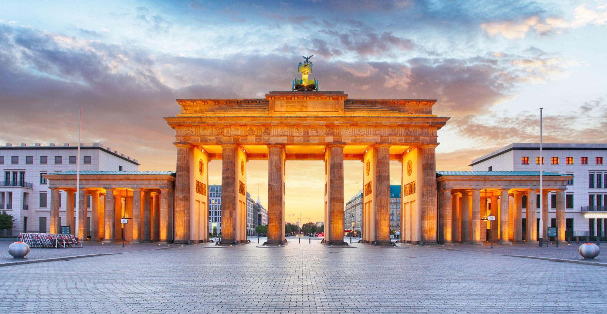Widok Bramy Brandemburskiej