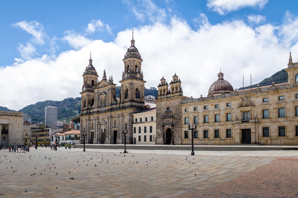 plac główny w Bogocie