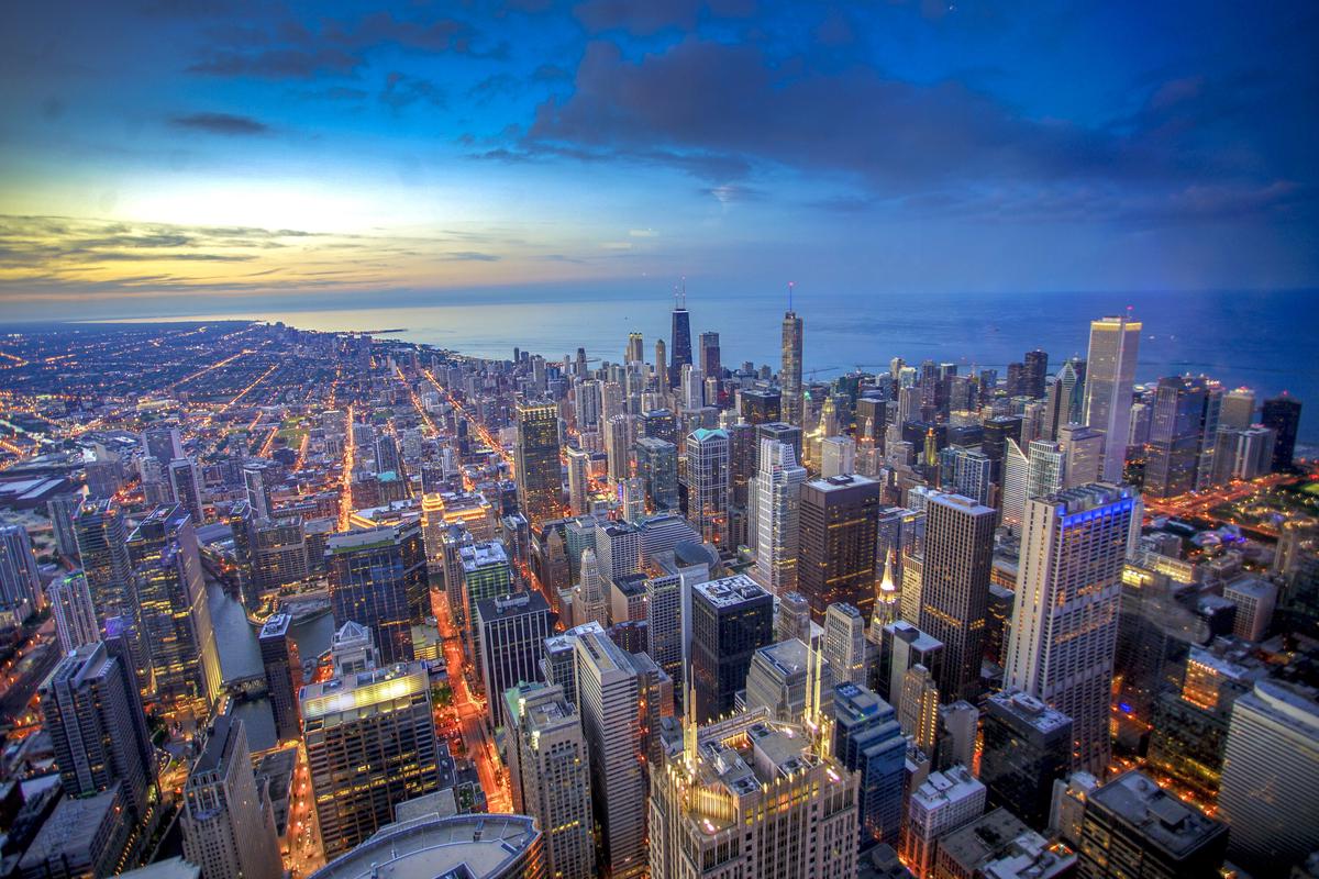 Chicago panorama miasta