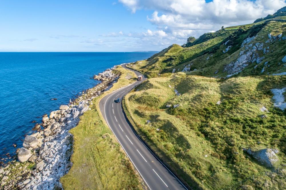 Droga w Irlandii Północnej