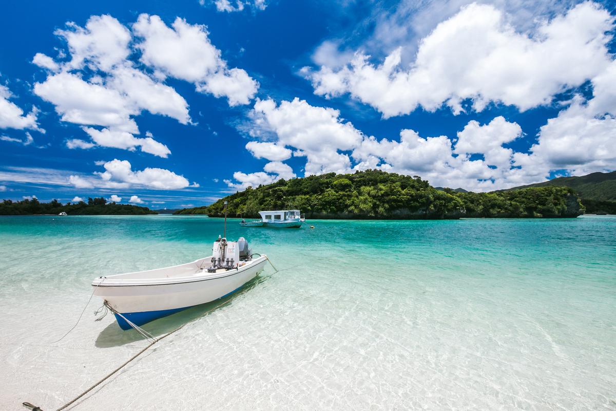 Okinawa plaża