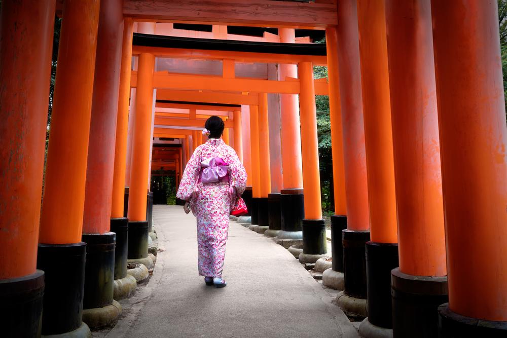 Japonia bramy tori
