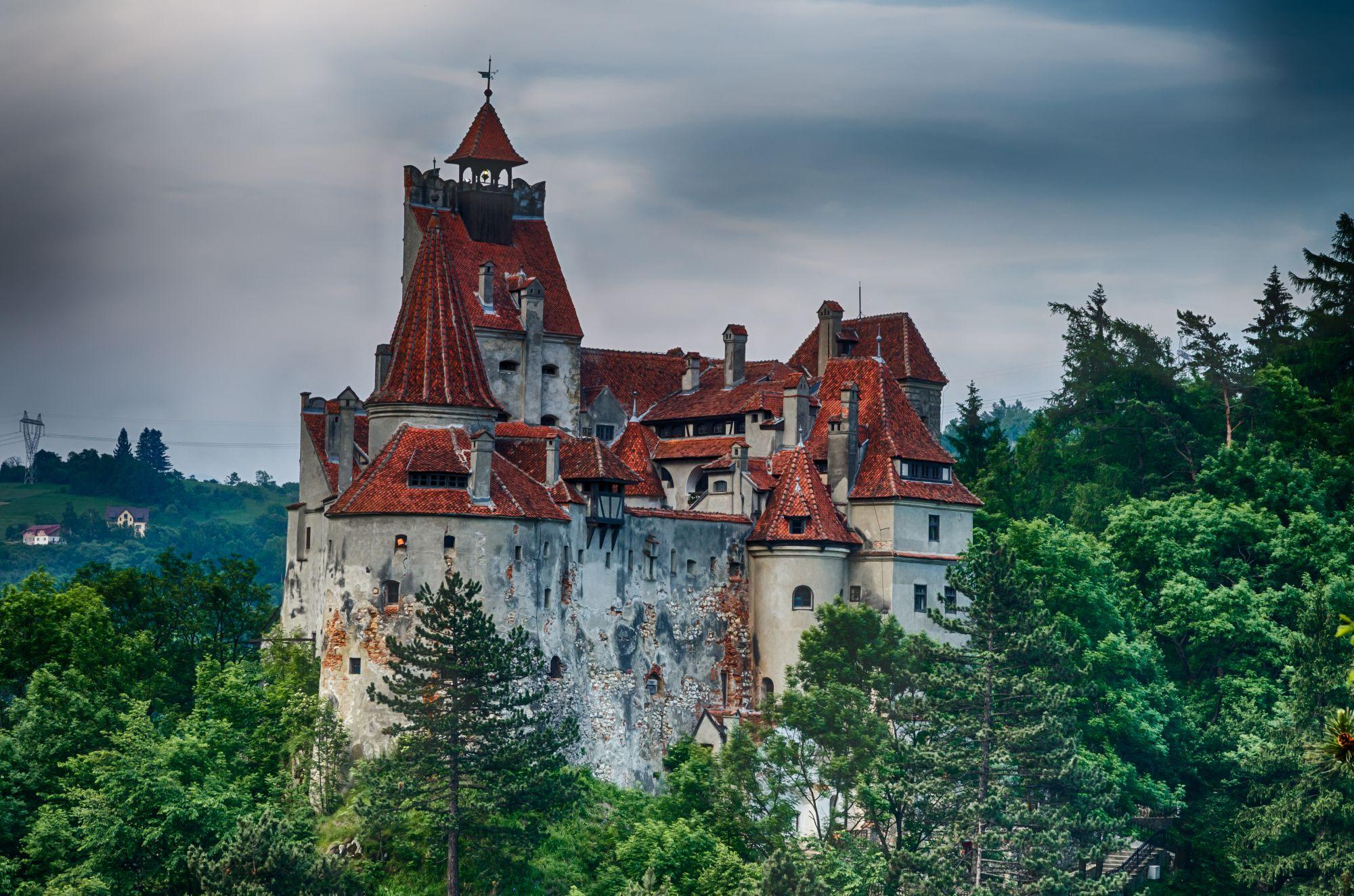 Transylwania widok zamku