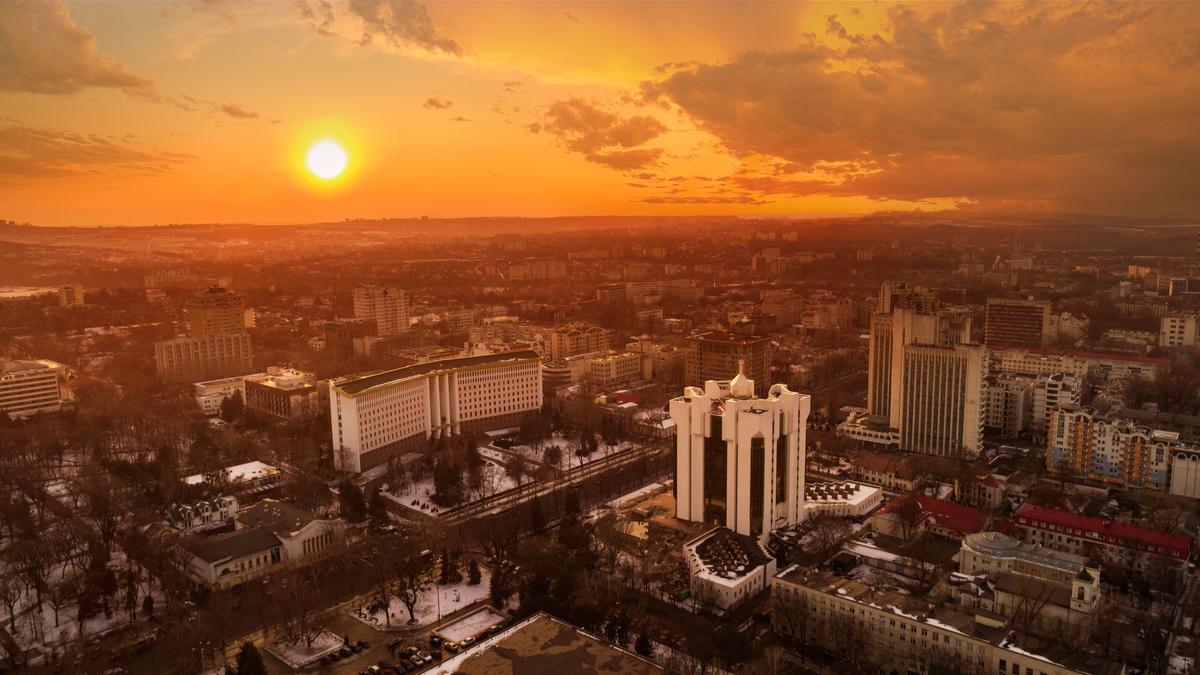 panorama miasta - kiszyniów