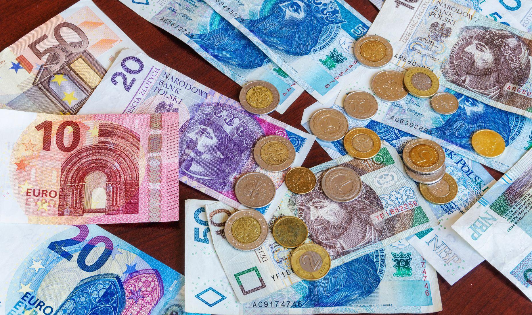 Pieniądze na podróż