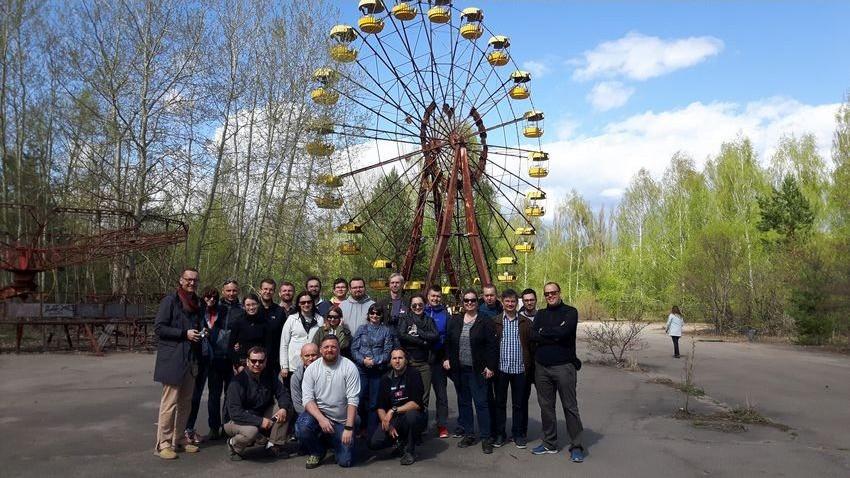 Czarnobyl z czytelnikami