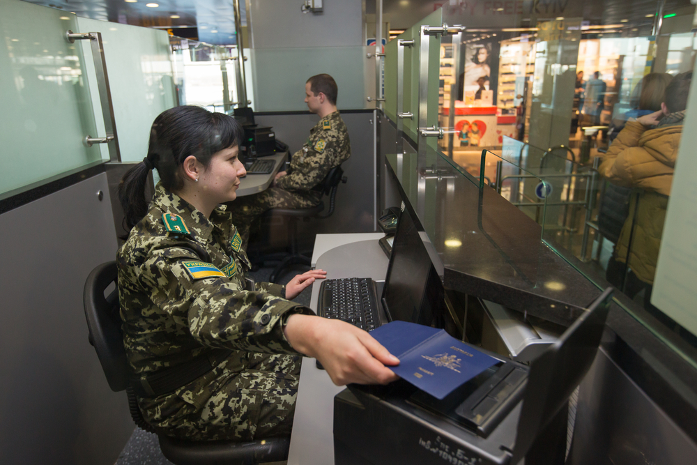 kontrola paszportowa