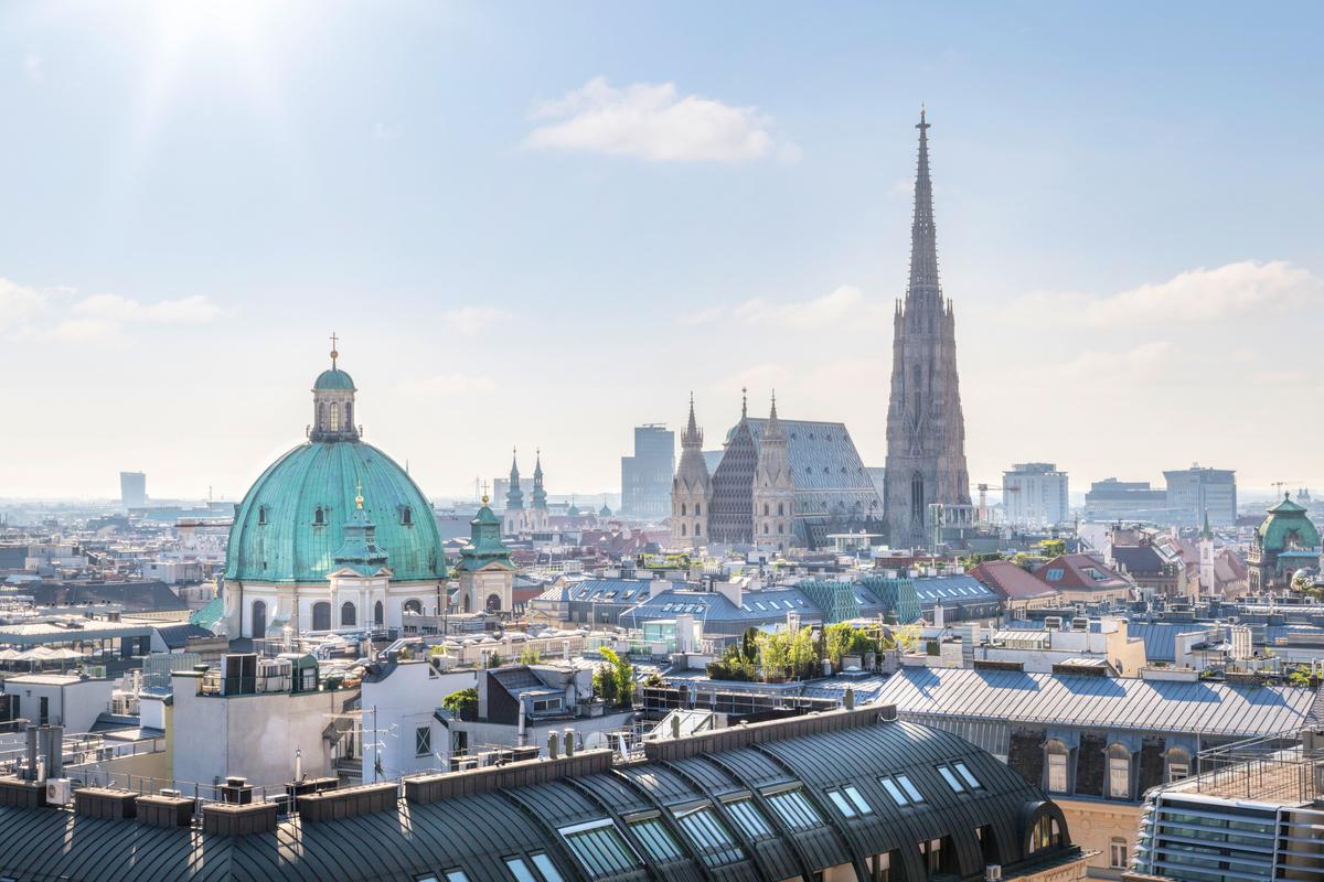 Wiedeń panorama miasta