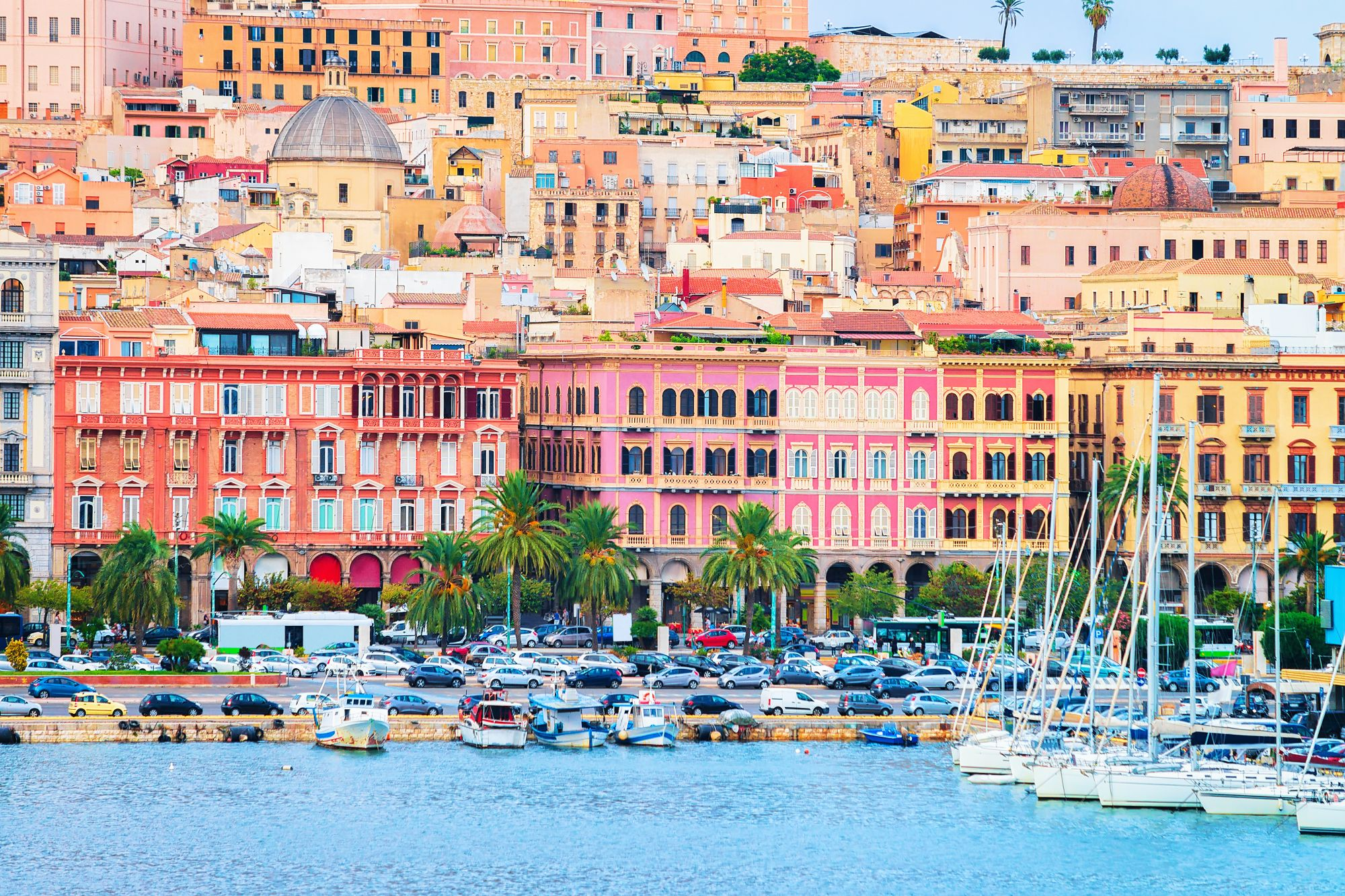 Cagliari widok miasta