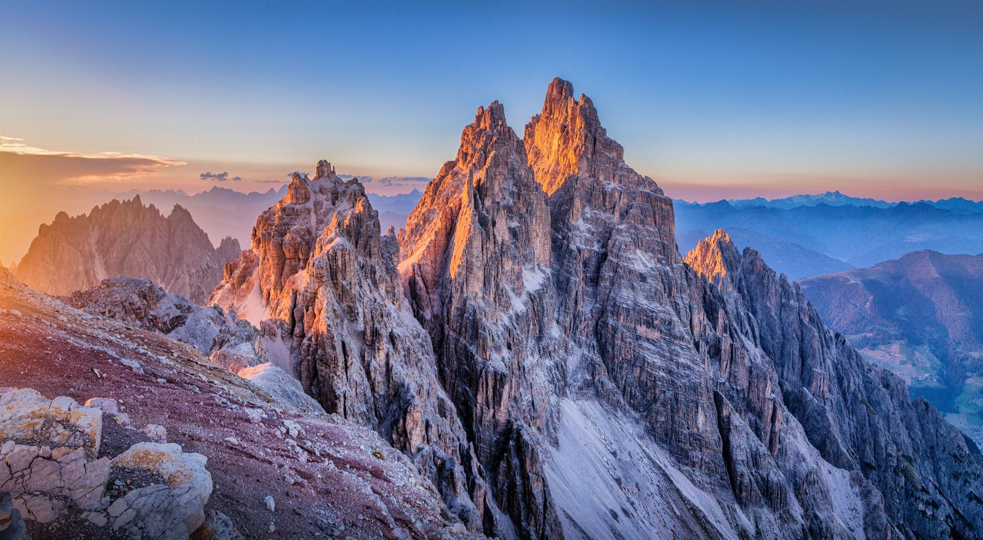 Dolomity panorama