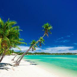 Fidżi piękna plaża