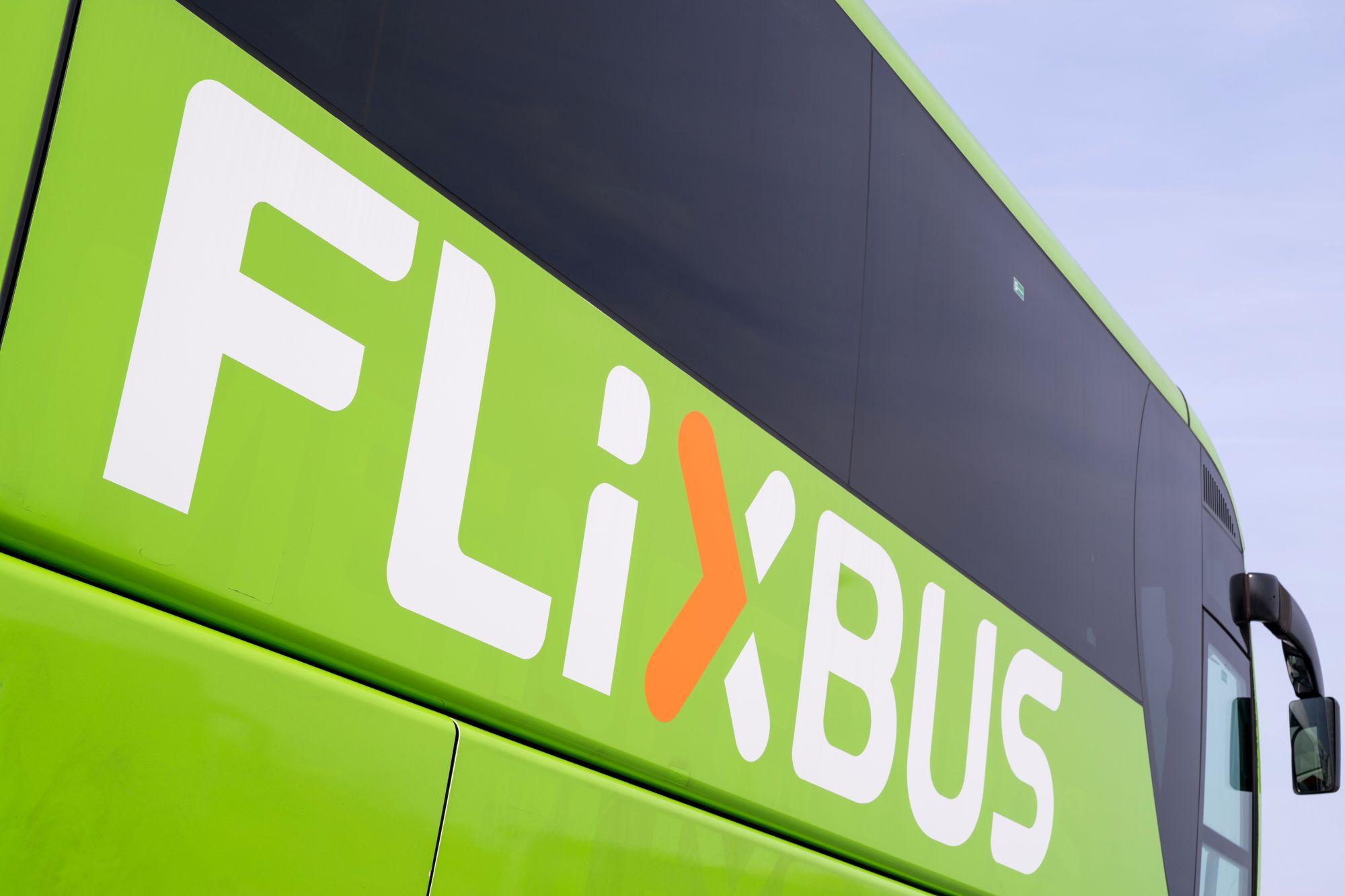 Flixbus widok autobusu