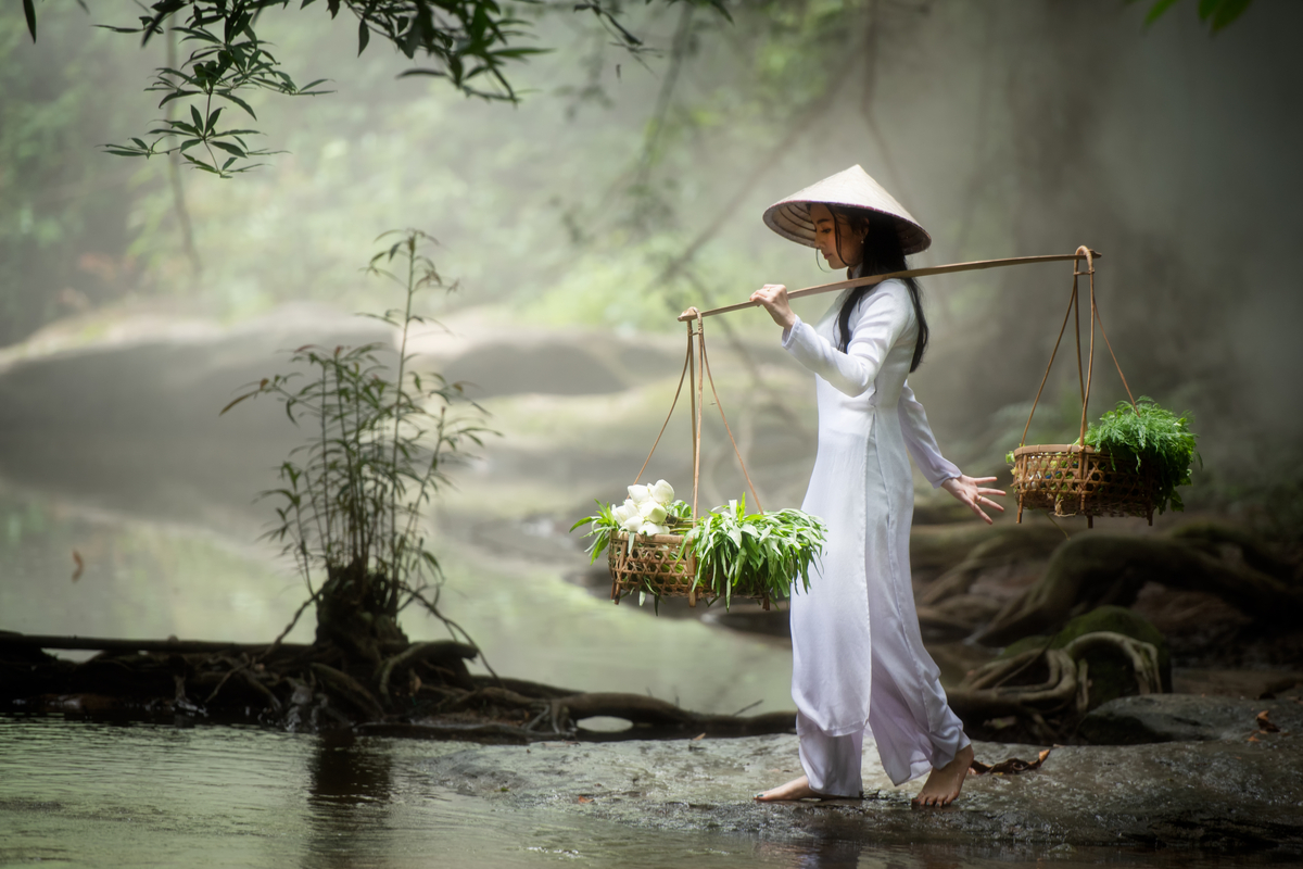 kobieta w Wietnamie