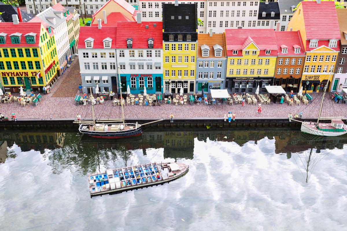 Kopenhaga kolorowe domki