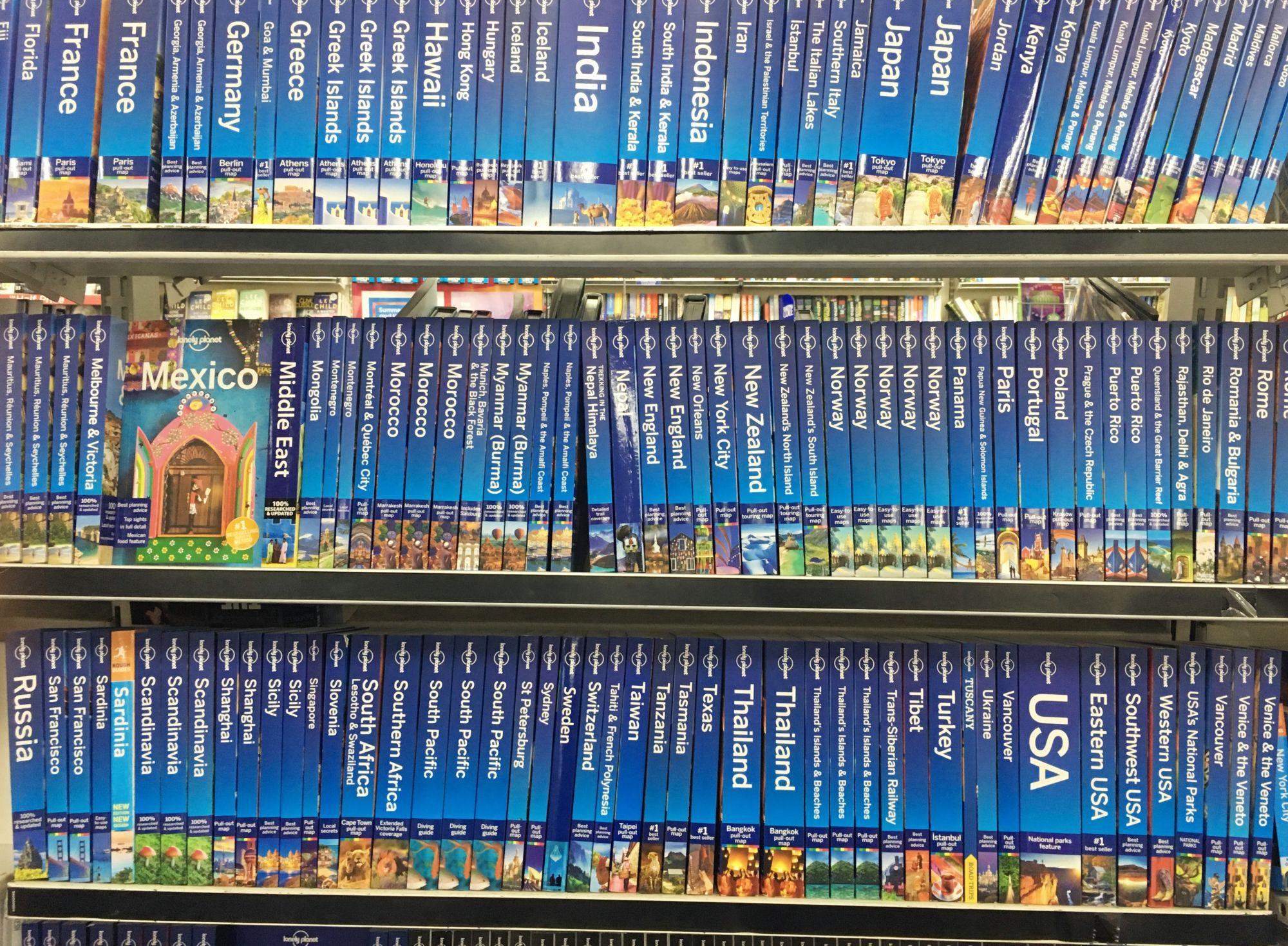Lonely Planet przewodniki
