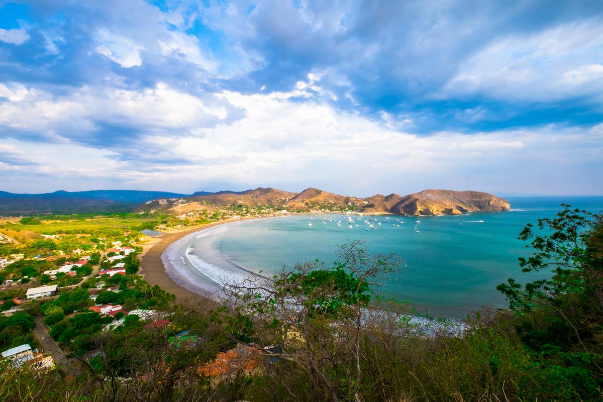 Nikaragua wybrzeże