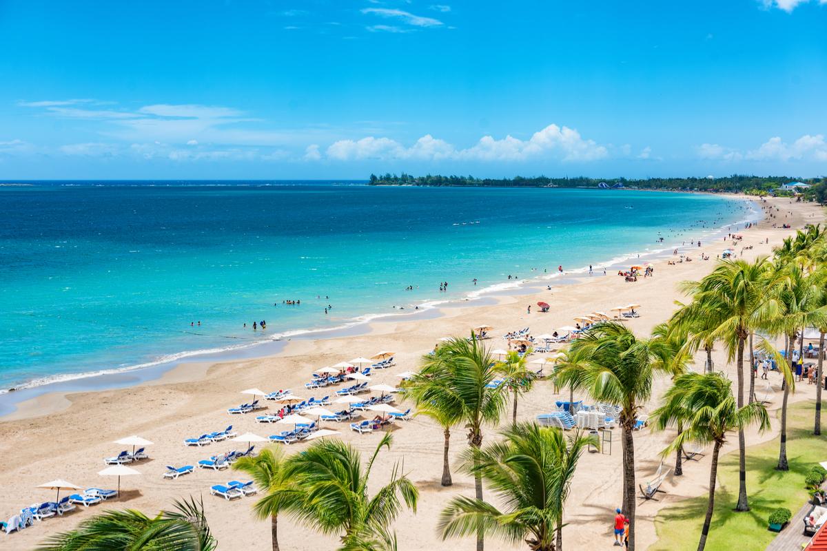 plaża w Portoryko