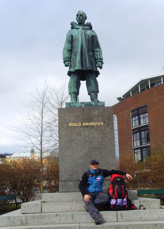Pomnik Roalda Amundsena