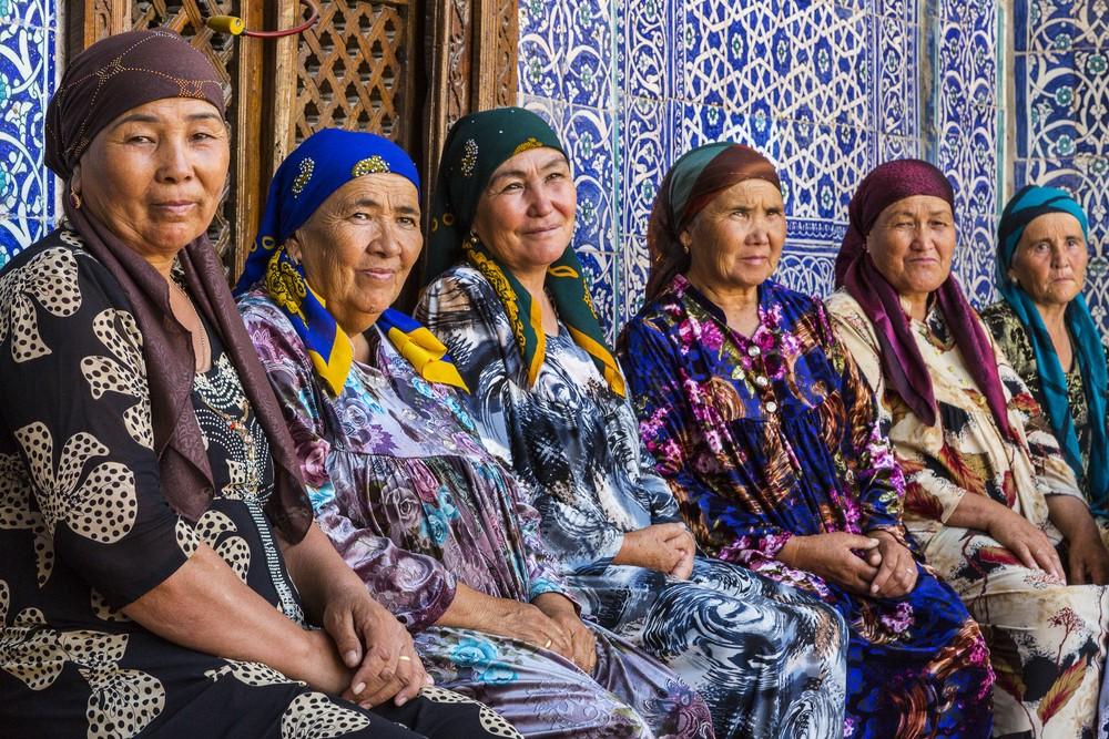 Kobiety w Uzbekistanie