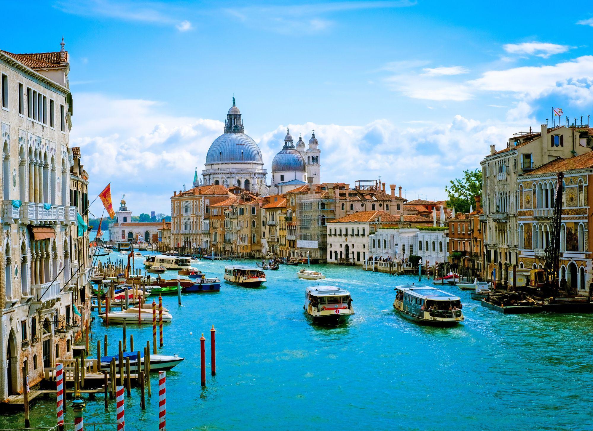 Wenecja widok kanału