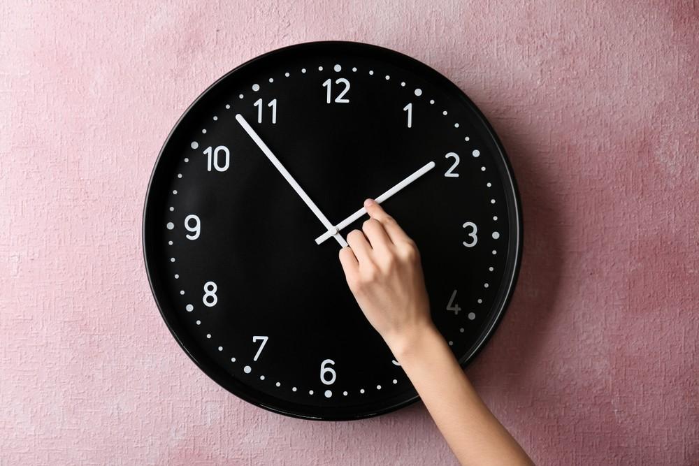 zegar analogowy