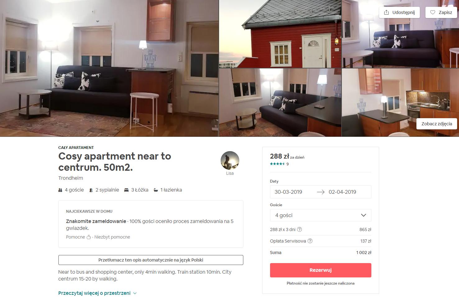 rezerwacja mieszkania