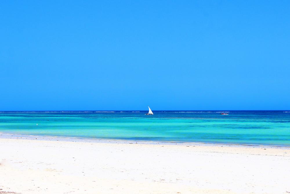 Kenia widok plaży