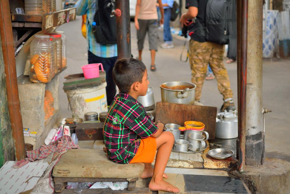 dziecko w indiach