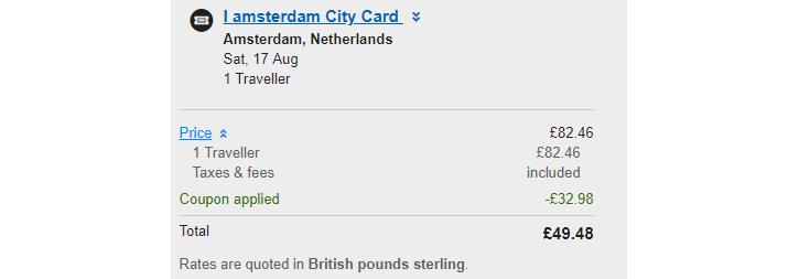 karta amsterdam pass