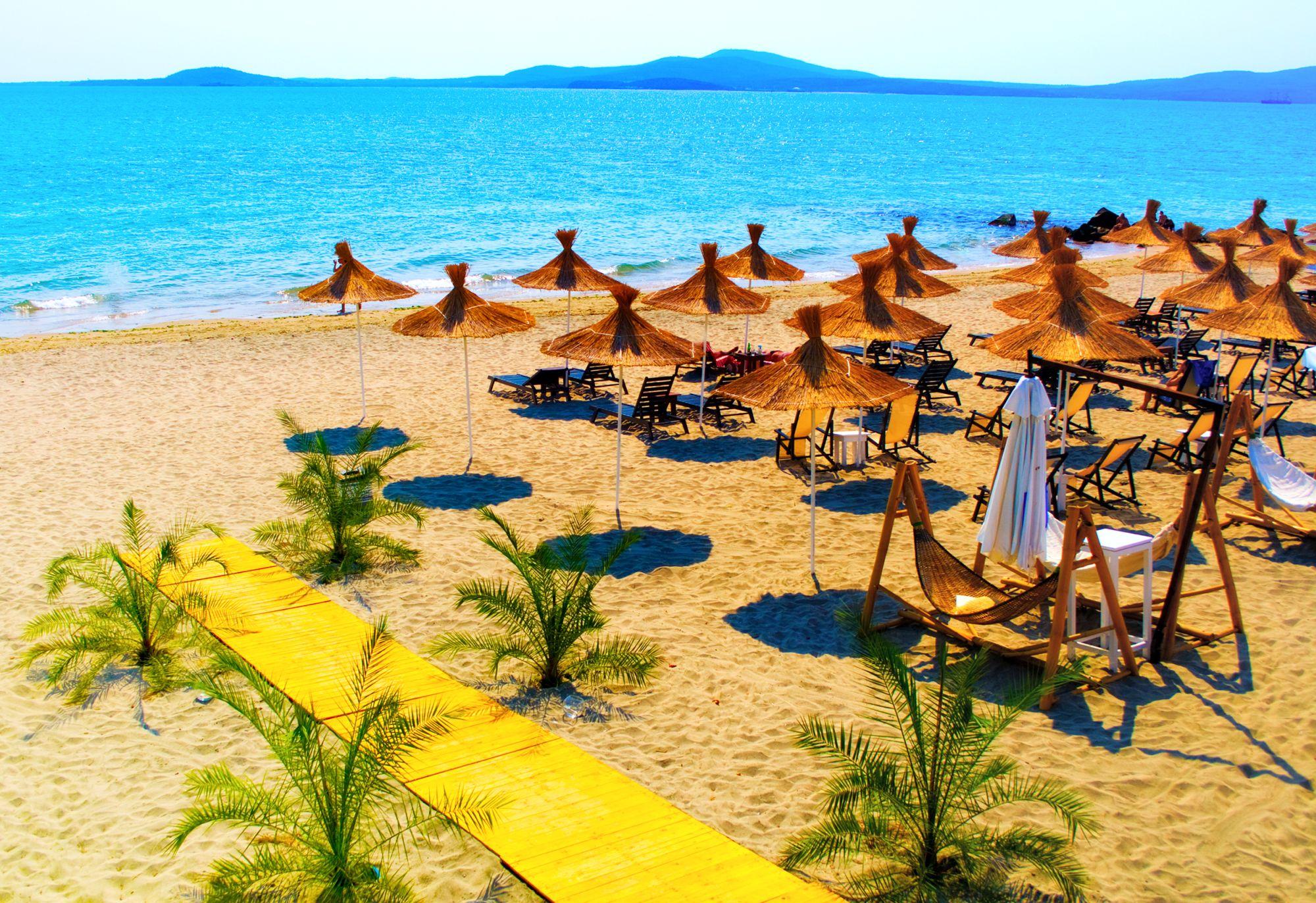 Bułgaria widok plaży